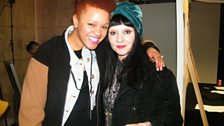 DJ and pal of Kylie Minogue, Princess Julia at Fashion East