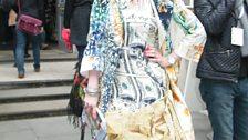 Stunning dress at Somerset House