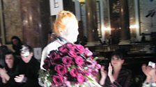 And the grand dame of British fashion herself!