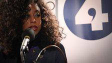 Corinne Bailey Rae at Maida Vale Studios