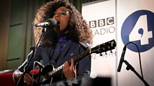 Corinne Bailey Rae at Maida Vale Studios