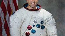 A pre-launch portrait of Harrison Schmitt in 1972