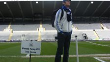 Vernon Goes To St James' Park - 3