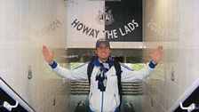 Vernon Goes To St James' Park - 5