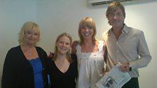 Sara, Producer Megan, Richard and Judy