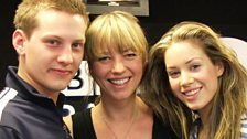 Sara with James Sutton & Roxanne McKee from Hollyoaks