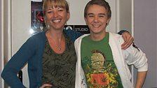 Sara and Jack P Shepherd aka David Platt from Corrie