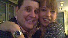 Sara and Peter Kay