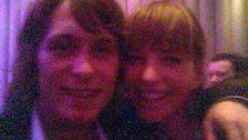 Sara with Mark Owen