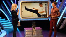 Ian reckons he can give the Louis leg lift a go