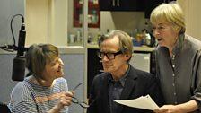 Suzanne, Bill and Geraldine rehearsing