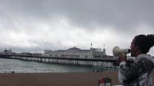 Megaphone Marathon - Day 4 - Brighton