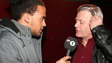 Dev meets one of his heroes... Tony Blackburn