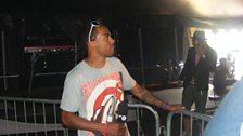 Dev at the Wireless Festival 2009