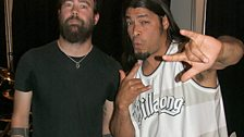 Dan meets Rob Trujillo