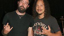 Dan meets Kirk Hammett