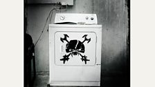 An Iron Maiden washing machine