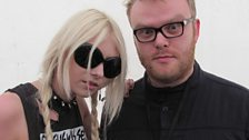 Huw and Taylor Momsen