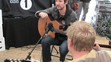 Punk Show favourite Frank Turner gave our competition winners a guitar lesson