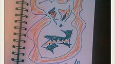 Dez Fafara (Devildriver) doodle