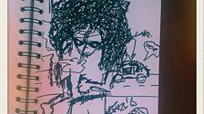 Randy Blythe (Lamb Of God) doodle