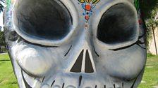La Dia De Los Muertos Skull