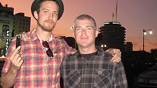 Mike and Frank Turner in Hollywood