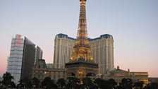 Paris by day in Las Vegas