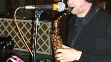 Jake plays Sax