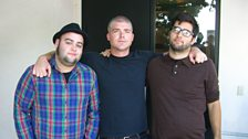 Mike with Alexisonfire