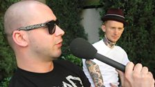 The Punk Show: Mike interviews The Gallows July 09 - 4