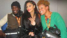 Backstage with Nicole Scherzinger