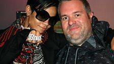 Rihanna, who flirted with Chris outrageously!