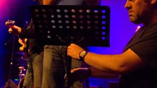 By popular demand, Dave prepares to sing his popular classic 'My Lamb Bhuna', as Chris erects a lectern for the...