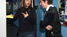 The Assistant Director tells Matt what he'll be doing - filing.
