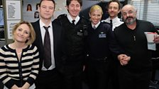 The brilliant cast who starred alongside Matt.