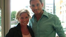 Carrie meets Frank Lampard - 18 August 06