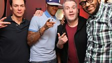 Chipmunk swung by during the Chris, Dave and Mistajam show