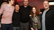 Masseur Big Steve and Corrie's Jennie McAlpine
