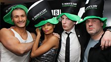 Yes, that is Thandi Newton with Patrick Kielty, Kissy and Chris