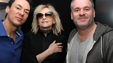 Dave and Chris joined the legend Annie Nightingale