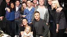 The Chris Moyles Show team, family and friends congratulate Chris and Dave.