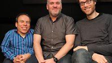 Warwick Davis & Stephen Merchant - 22 Nov 2011