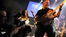 And multinstrumentalist DJ Chris Moyles gives us some guitar action