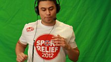22 March 12 - Sport Relief Mile:The Warm Up - 3