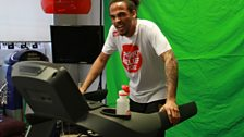 22 March 12 - Sport Relief Mile:The Warm Up - 7