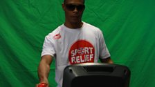 22 March 12 - Sport Relief Mile:The Warm Up - 14