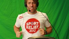 22 March 12 - Sport Relief Mile:The Warm Up - 25