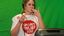 22 March 12 - Sport Relief Mile:The Warm Up - 29