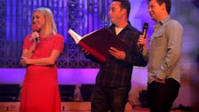 Fearne with Ant and Dec